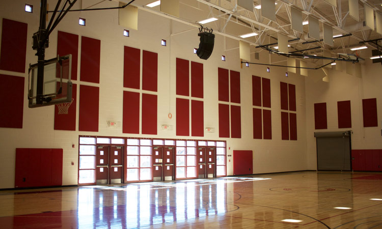 Wellness Center Basketball Court